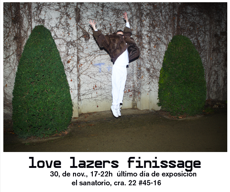 love lazers finisage info flyer