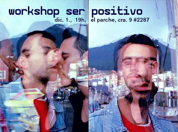 flyer workshop ser positivo